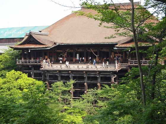 Kiyomizu-dera Temple Main Hall Hondo