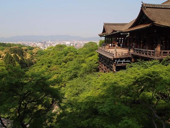 Kiyomizu Kyoto Tower City Skyline