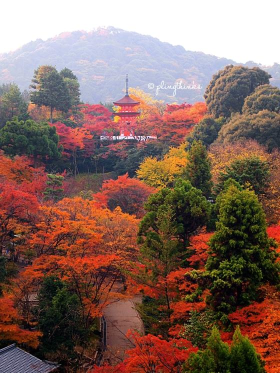 Koyasu Pagoda - Kiyomizu Kyoto