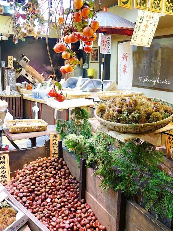 Kyotanba Tamba Chestnuts - Nishiki Market Kyoto