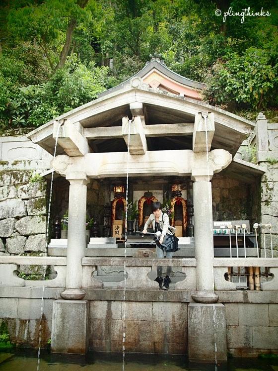 Otowa Waterfall at Kiyomizu-dera - Kyoto